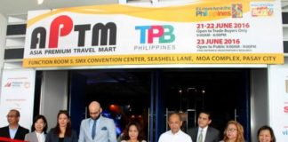 Asia Premium Travel Mart 2016 file photo