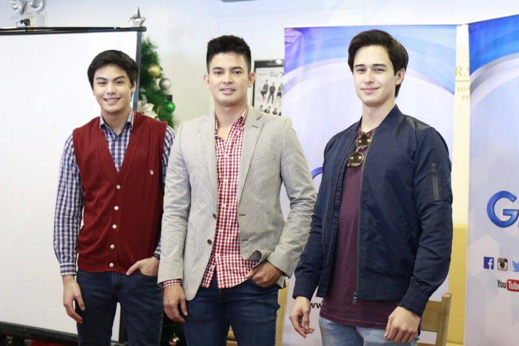 Migo, Jason and Ivan