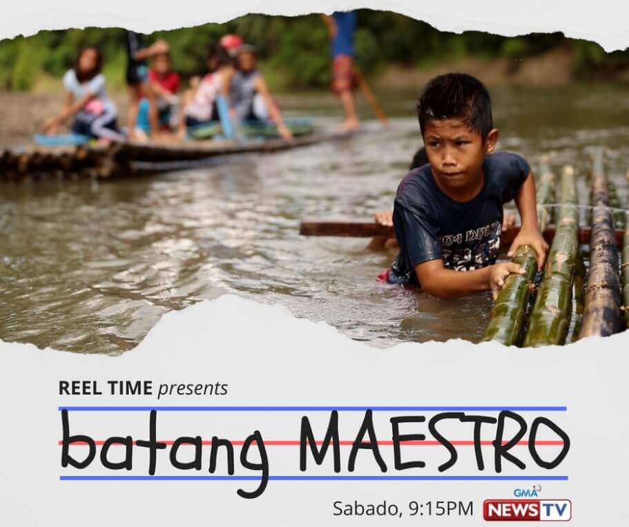 Reel Time's Batang Maestro won a Gold Camera Award in the Social Issues category