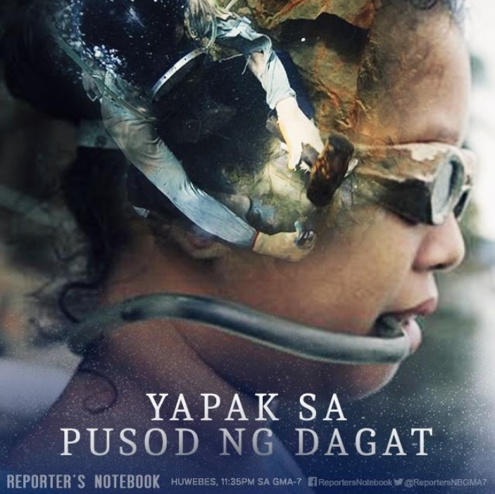 Reporter's Notebook's Yapak sa Pusod ng Dagat by Maki Pulido is Silver Screen Award winner in the Social Issues category