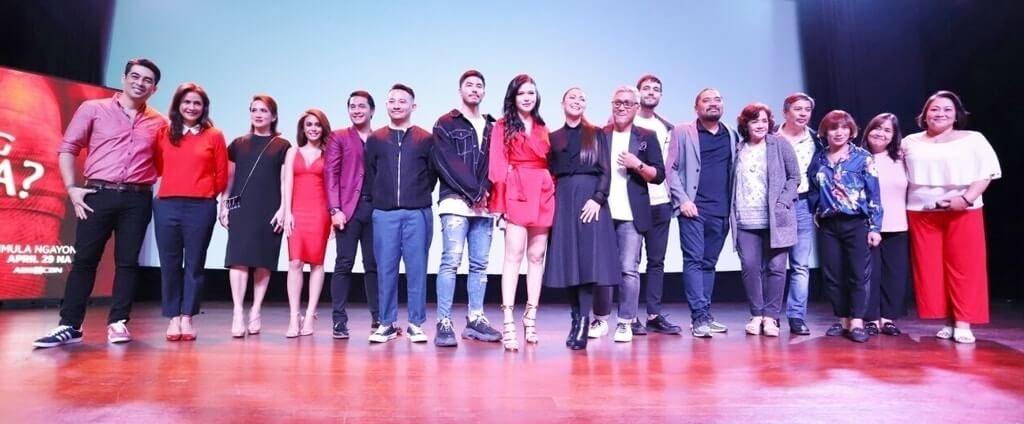 The cast and directors of the crime-drama series Sino Ang Maysala Mea Culpa.