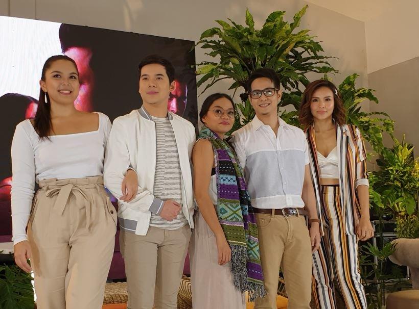 (L-R) Ria Atayde, Christian Bables, Chai Fonacier, Hero Angeles, and Nina Dolino