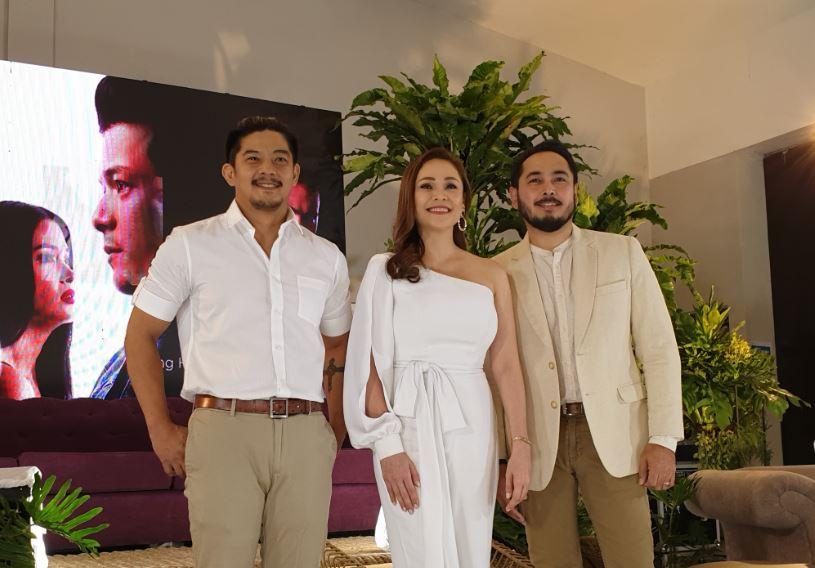 (L-R) Romnick Sarmenta, Almira Muhlach, and Cris Villanueva
