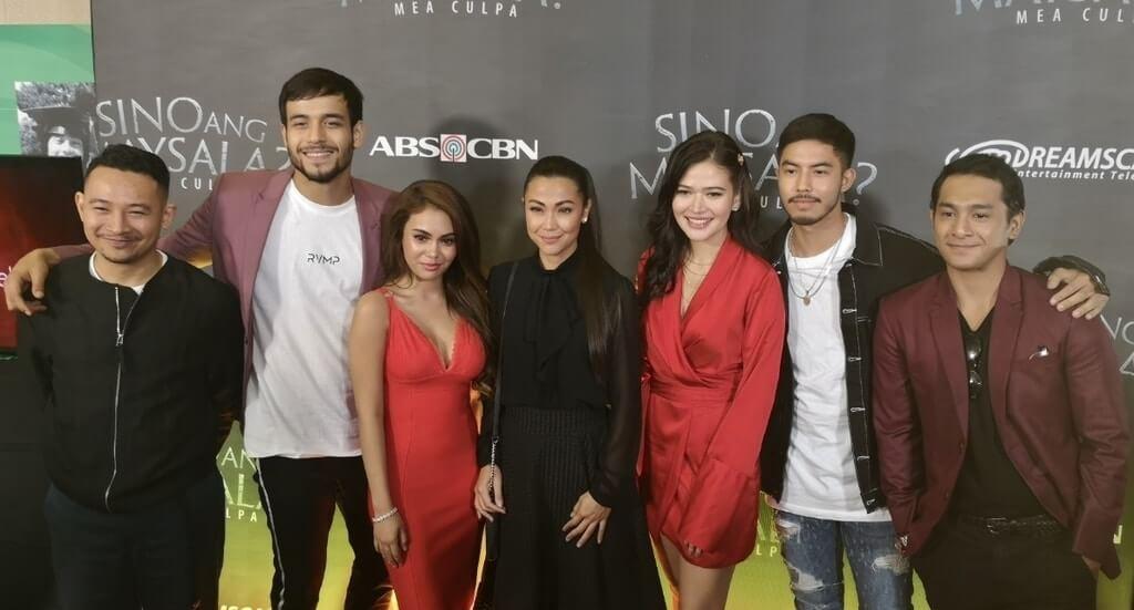 Sino Ang Maysala lead cast Ketchup Eusebio, Kit Thompson, Ivana Alawi, Jodi Sta. Maria, Bela Padilla, Tony Labrusca, and Sandino Martin.
